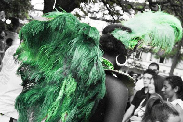 festa brasiliana con sfilata