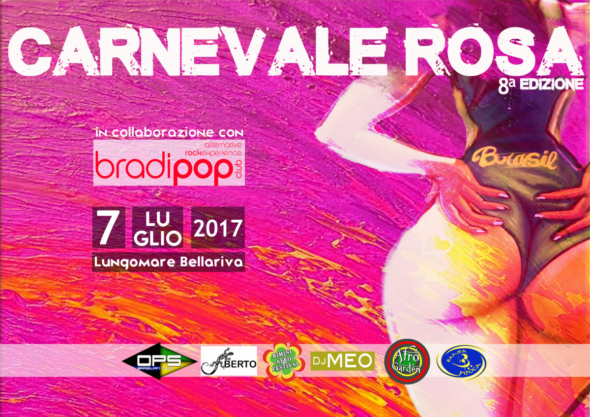 carnevale rosa 2017